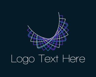 Chain - Purple Necklace logo design