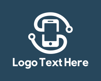 Mobile Phone - Mobile & Headphones logo design