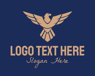 Aviation - Bronze Eagle Aviation logo design
