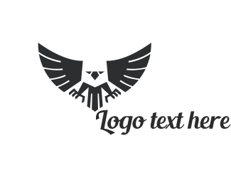 logo maker customize this black white logo template instantly