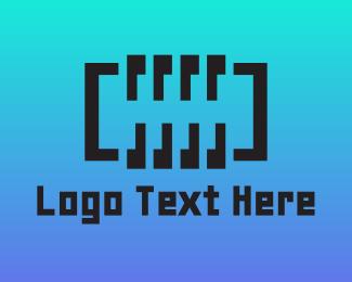Polynesian - Digital Abstract Spring logo design