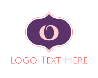 Turkish - Arab Letter O logo design