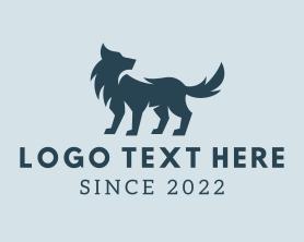Puppy - Wild Wolf Dog logo design