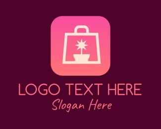 Shop - Star Pot Shopping logo design