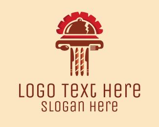 Italian Restaurant - Roman Food Restaurant logo design