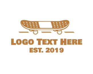 Skate - Safe Skateboard logo design