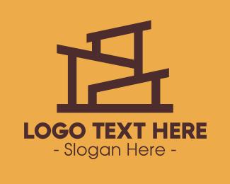 Minimal - Minimal Apartment Building logo design