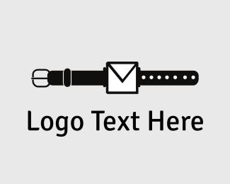 Wearable - Mail Watch logo design