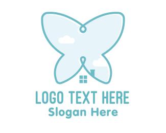 Investor - Butterfly House logo design