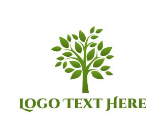 Botanical - Green Tree logo design