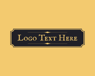 Speakeasy - Antique Elegant Wordmark  logo design