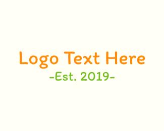 Kindergarten - Child Hand logo design