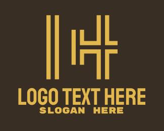 Urban Planning - Urban Map Letter C H logo design
