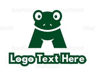 Pest - Green Toad A logo design