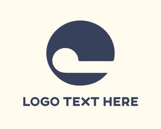 Silhouette - Circle & Smile logo design