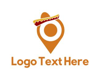 Destination - Mexican Pin logo design