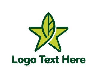 Branch - Leaf Star logo design