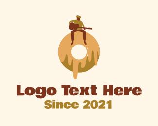 Musician - Donut Cafe Musician  logo design