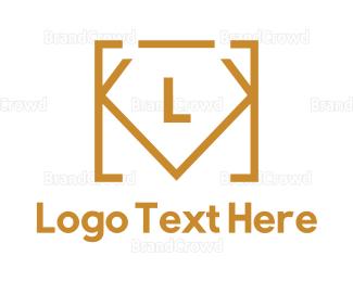 Code - Diamond Code Lettermark  logo design