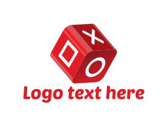 Dice - Gaming Cube logo design