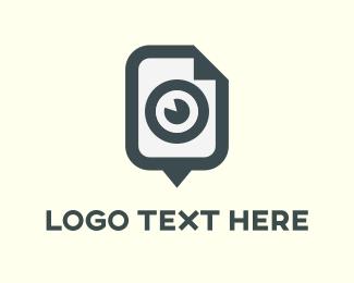 Talking - Eye Talk logo design
