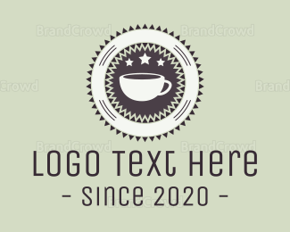 """Coffee Badge Cafe"" by Logorama"
