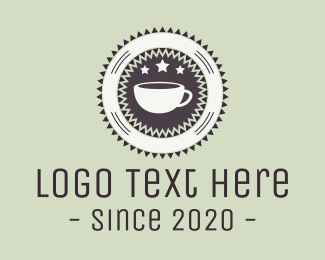 Latte - Coffee Circle logo design