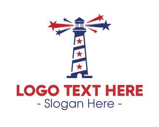 Beacon - USA Beacon logo design