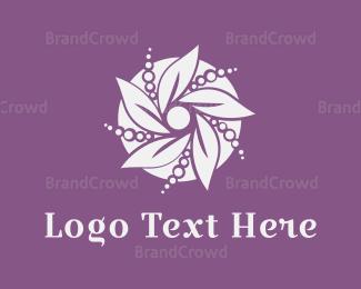 Beautify - Pearl Flower logo design