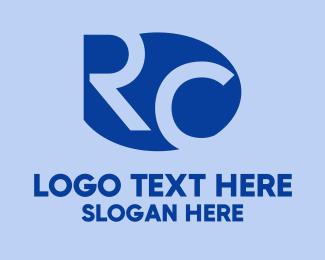 Monogram - R & C Monogram logo design