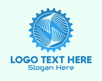 Technology - Industrial Manufacturing Company  logo design