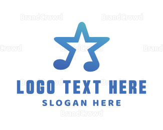 Celebrity - Star Music logo design