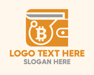 """Bitcoin Crypto Wallet"" by LogoBrainstorm"