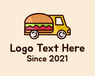 Food Truck - Burger Food Truck logo design