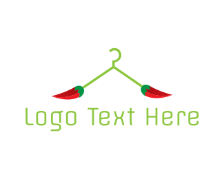 Chilli - Chili Hanger logo design