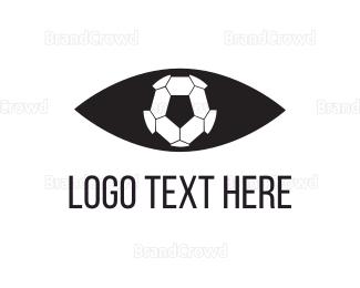 Barcelona - Soccer Eye logo design