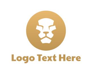 Mane - Lion Circle logo design