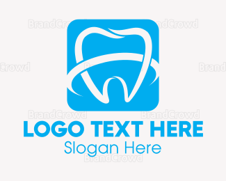 Dentist - Molar Square logo design