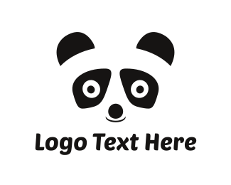 Panda Bear Kids Logo