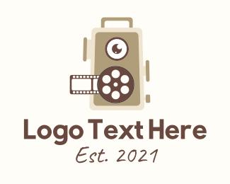 Tv Show - Motion Picture Reel  logo design