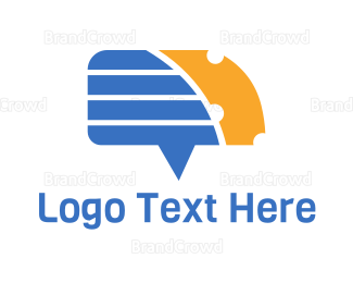 Chat - Chat & Cheese logo design