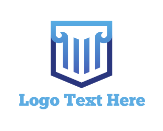 Law - Law Shield logo design