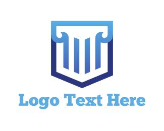 Professional Service - Law Shield logo design