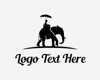Tour - Elephant Tour logo design