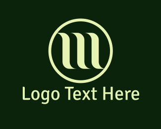 Elegant - Green Waves logo design