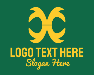 Reflect - Generic Claw Pattern logo design