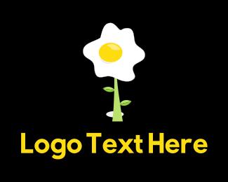 Breakfast - Egg Plant logo design