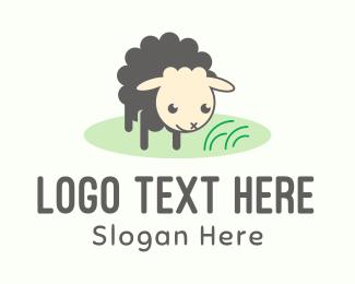 Sheep - Baby Sheep Lamb logo design
