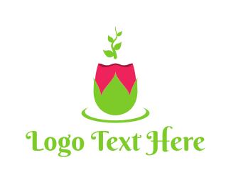 Gardener - Spring Rose logo design
