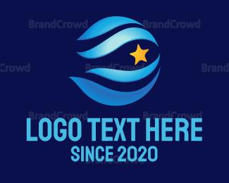 Airspace - Air & Star logo design